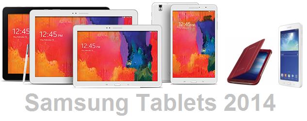Samsung Tablets 2014