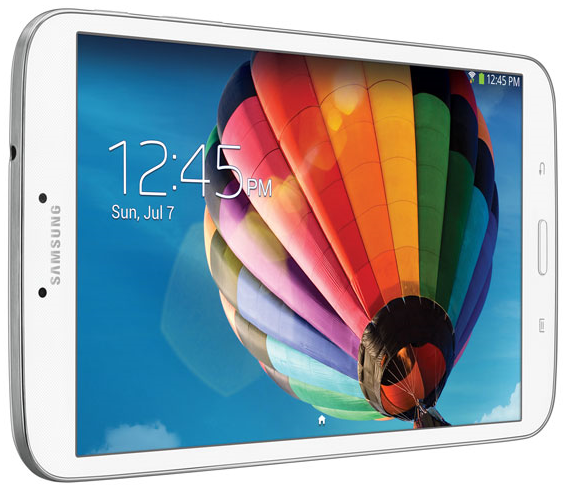 The current 8-inch Samsung Galaxy Tab