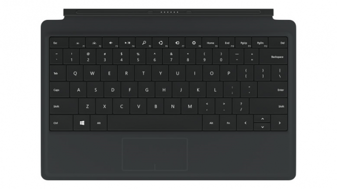 Microsoft Surface Power Cover keyboard