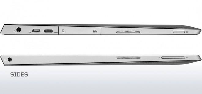 Sides of Lenovo Miix 2 11