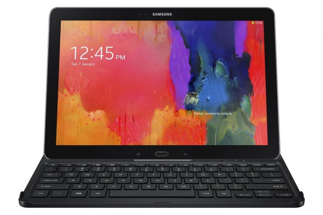 Official Samsung Galaxy Note Pro 12.2 keyboard dock