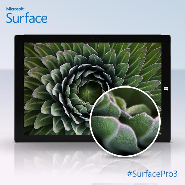Microsoft Surface Pro 3 screen
