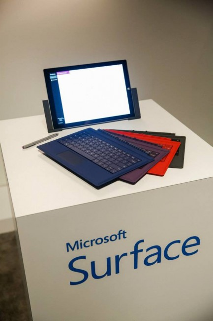 New Microsoft Type Cover for the Surface Pro 3
