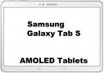 AMOLED Tablets Samsung Galaxy Tab S