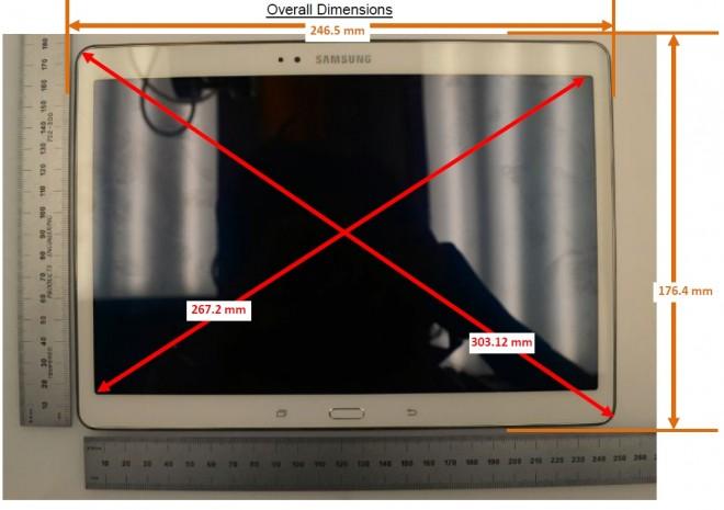 Samsung Galaxy Tab S (SM-T800) stats