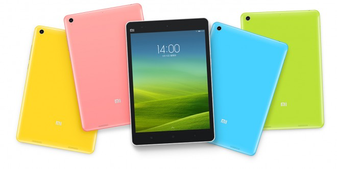 Xiaomi Mi Pad colors