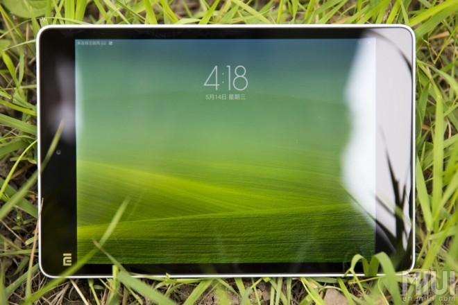 Xiaomi Mi Pad landscape mode