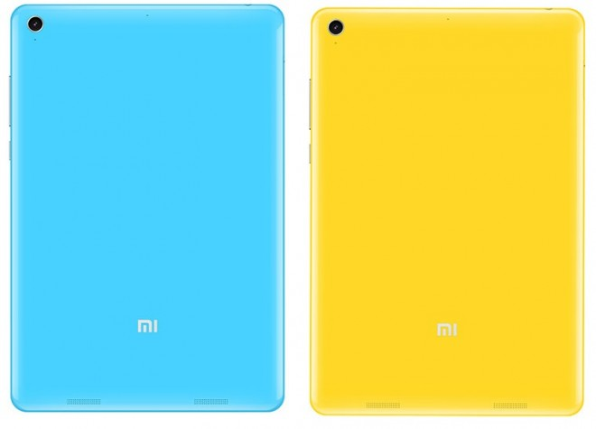 Rear of Xiaomi Mi Pad tablet