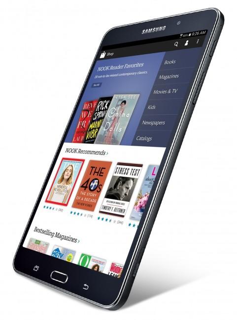 Barnes & Noble's Samsung Galaxy Tab 4 NOOK (SM-T230)