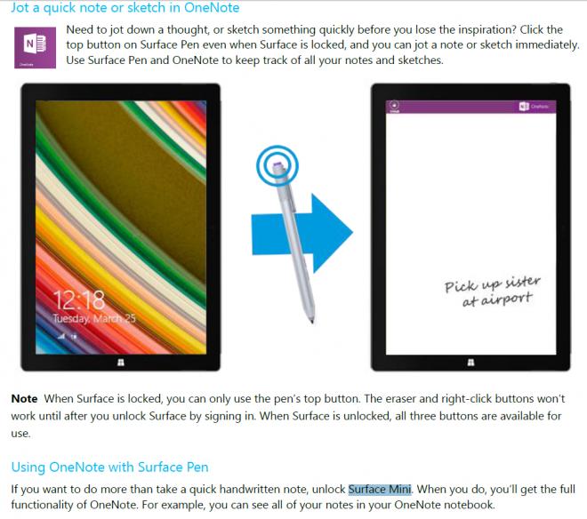 Microsoft Surface Mini