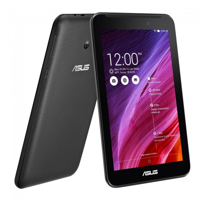 Asus MeMO Pad 7 front and back