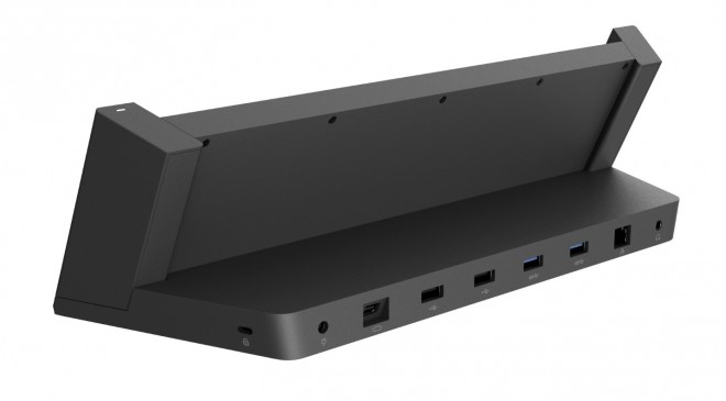 Microsoft Surface Pro 3 Docking Station ports