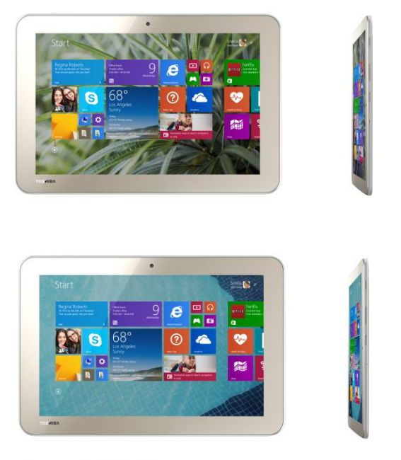 Toshiba Encore 2 WT10 32GB and 64GB