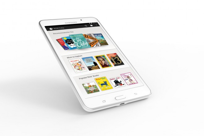 Samsung Galaxy Tab 4 NOOK - NOOK Today Screen