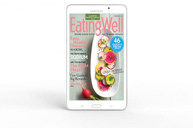 Samsung Galaxy Tab 4 NOOK magazine