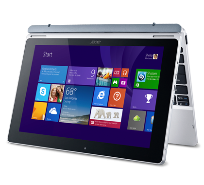 Acer Aspire Switch 11 tent mode