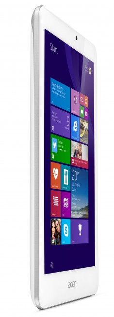 Acer Iconia Tab 8 W in white
