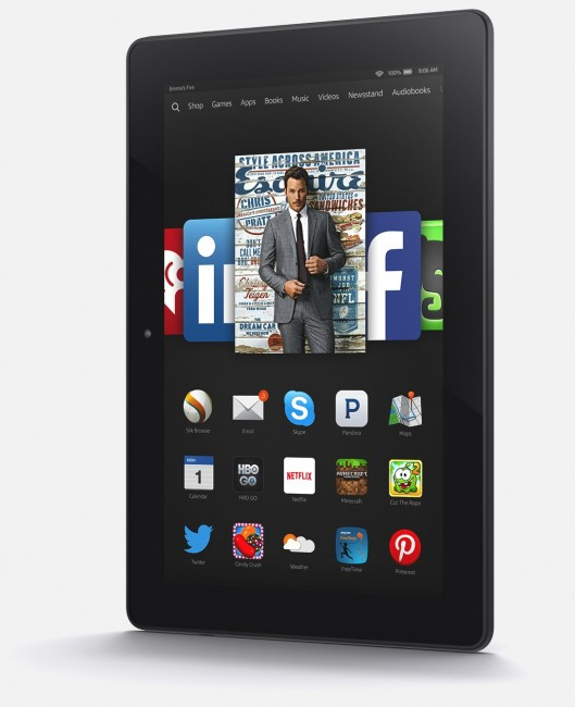 The new Kindle Fire HDX 8.9 2014-2015 Edition