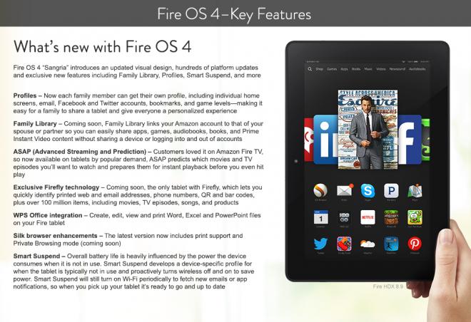Fire OS 4 Sangria