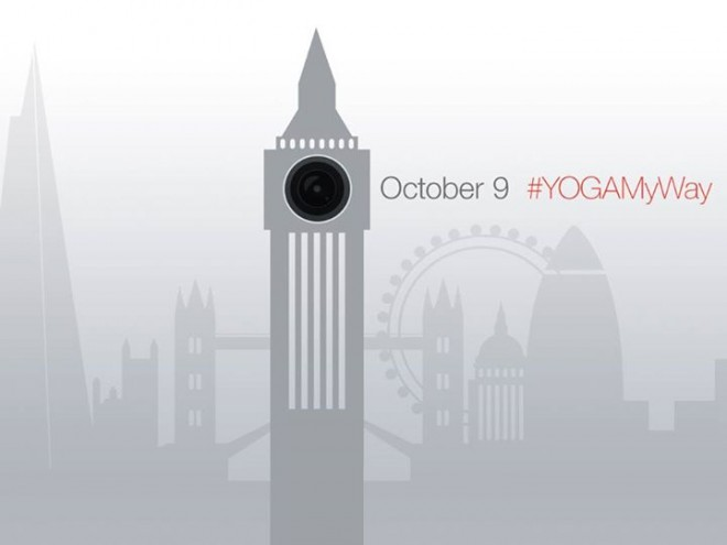Lenovo Yoga Tablet London Event October 9 2014
