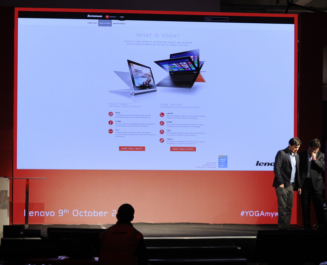 Lenovo in London October 9 2014 at 7PM