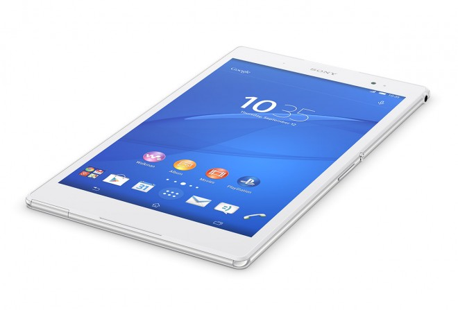 Sony Xperia Z3 Tablet Compact flat