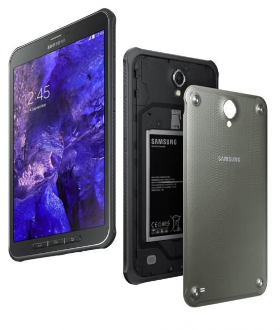Waterproof rugged Samsung Galaxy Tab Active