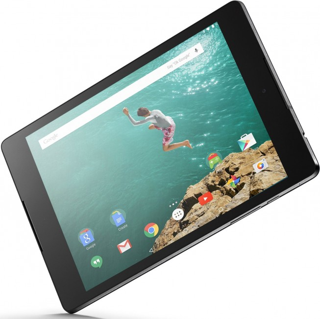 Android 5.0 Lollipop tablet HTC Nexus 9