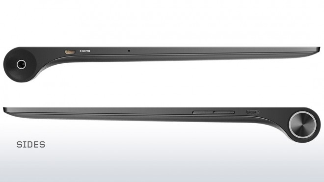 Lenovo Yoga Tablet 2 10 Windows 8 sizes