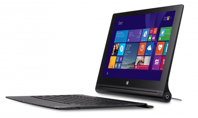 Lenovo Yoga Tablet 2 10 Windows 8 with keyboard