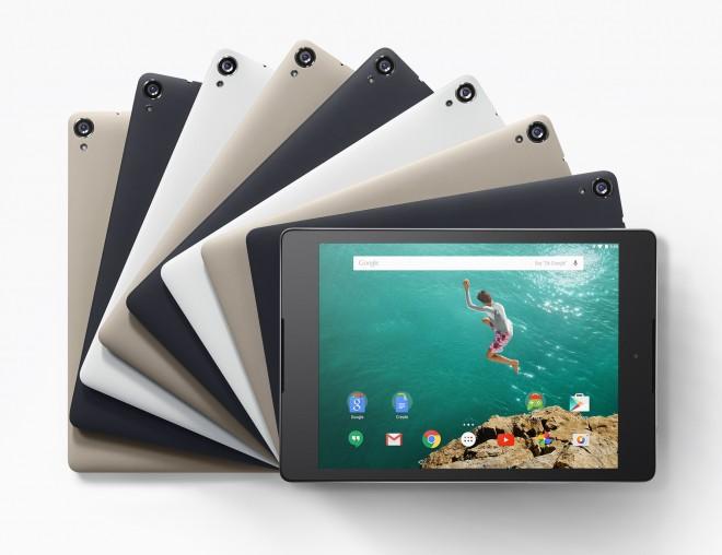 Nexus 9 color options