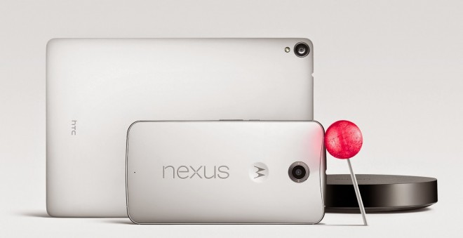 Nexus family with Android 5.0