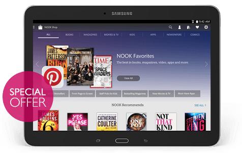 Samsung Galaxy Tab 4 NOOK 10.1