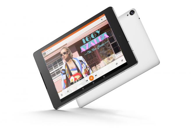 White Nexus 9