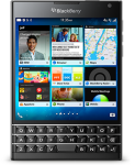 Blackberry Passport with 1:1 aspect ratio