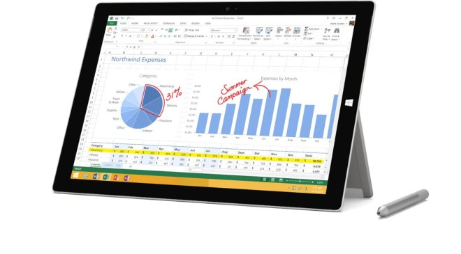 Cyber Monday Tablet Deal Microsoft Surface Pro 3