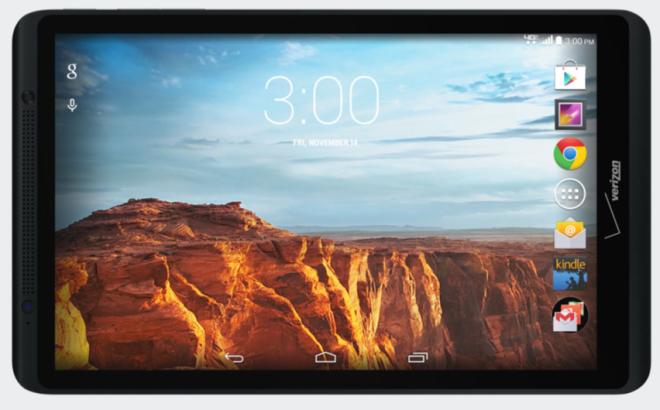 Verizon Ellipsis 8 4G Android Tablet