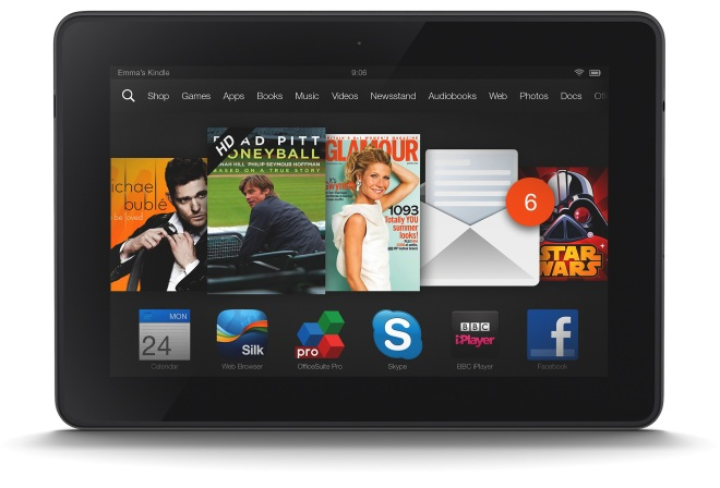 Kindle Fire HDX 7 4G LTE On Sale Today For $139