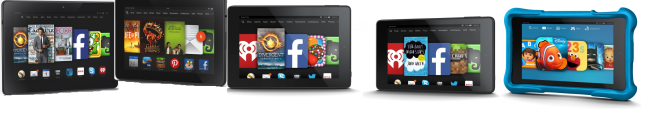 Kindle Fire Tablet Family