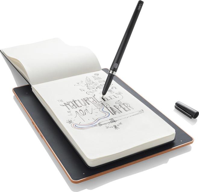 Digitizer paper notes with Iskn Sketchnote