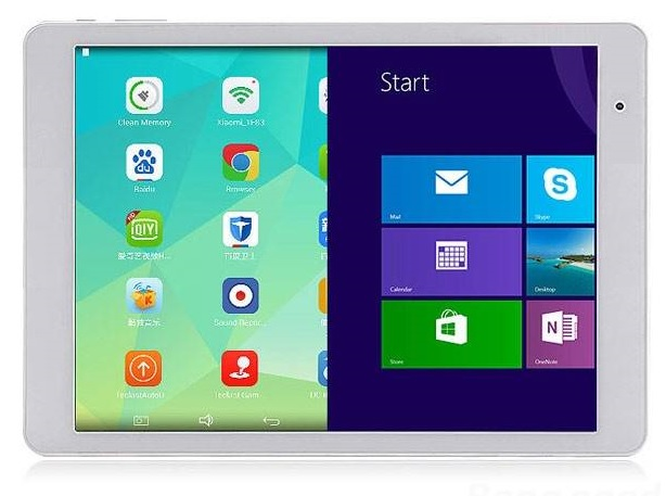 Dual OS tablet (Windows 8.1 & Android 4.4)