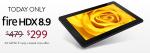 Fire HDX 8.9 Sale
