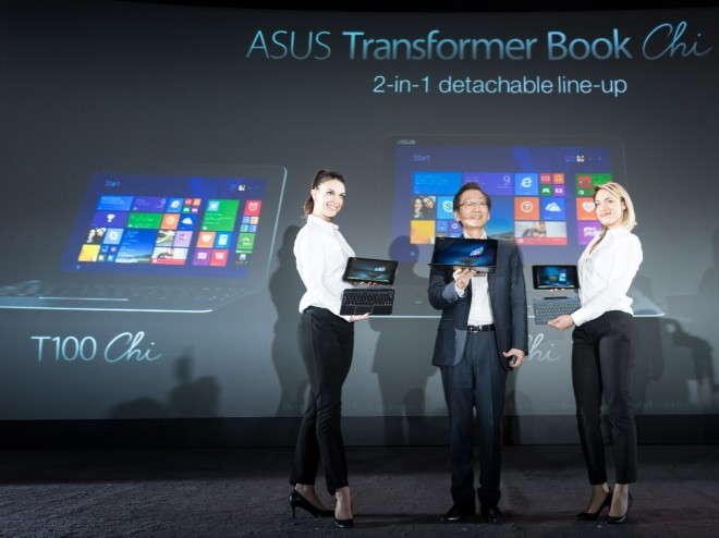 Asus Transformer Book T100 Chi Release