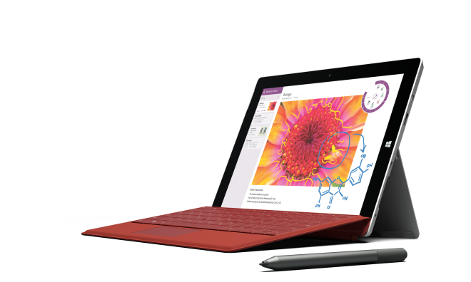 Surface 3 for taking notes