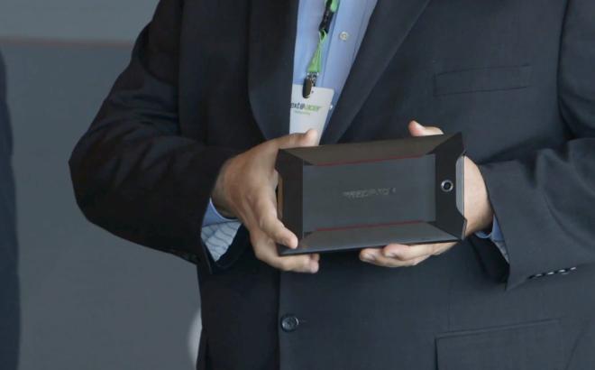 Acer Predator Tablet back