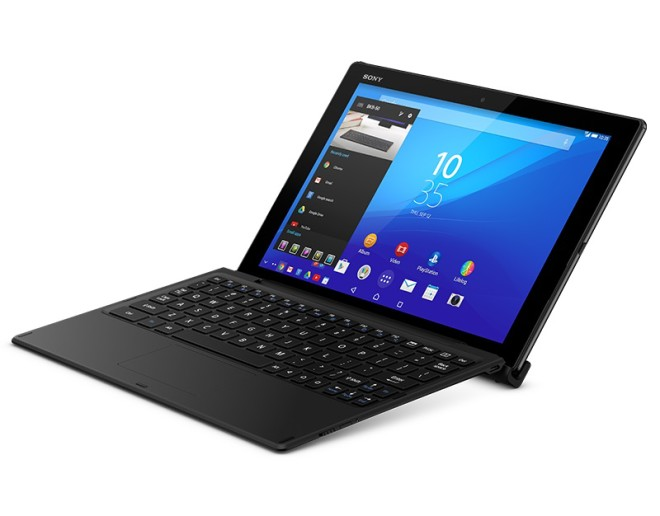 Sony Xperia Z4 Tablet, with optional keyboard docking