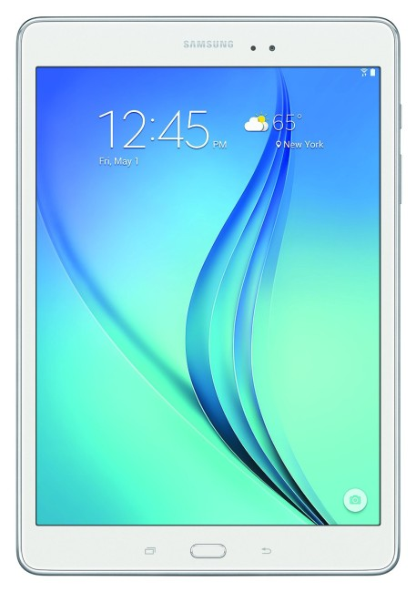 White Samsung Galaxy Tab A 9.7