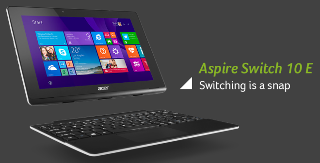 Acer Aspire Switch 10 E (SW3-013-17Z6)