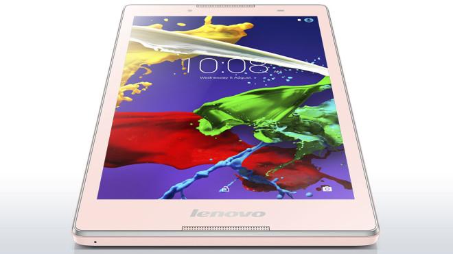 Pink tablet Lenovo Tab 2 A8