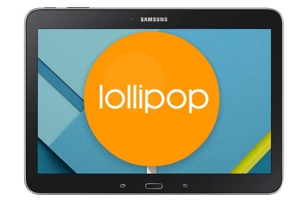 Samsung Galaxy Tab 4 10.1 Android 5.0 Lollipop